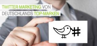 Welche Top-Marken nutzen in Deutschland Twitter-Marketing am Besten?