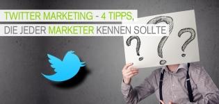 Twitter Marketing Tipps für Marketer im Social Media Marketing.