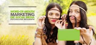 Word-of-Mouth-Marketing – Die Psychologie der Kundenbewertungen in Social Media [Infografik]