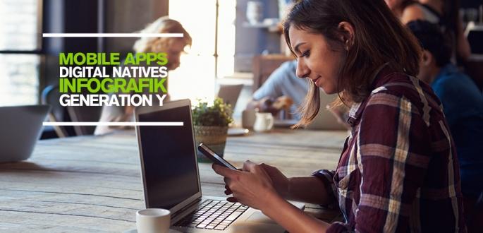 Wie tickt die Generation Y? Mobile Apps für Digital Natives einrichten [Infografik]