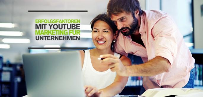 Erfolgsfaktoren mit YouTube Marketing für Unternehmen: Tipps, Zahlen und Fakten (Infografik)