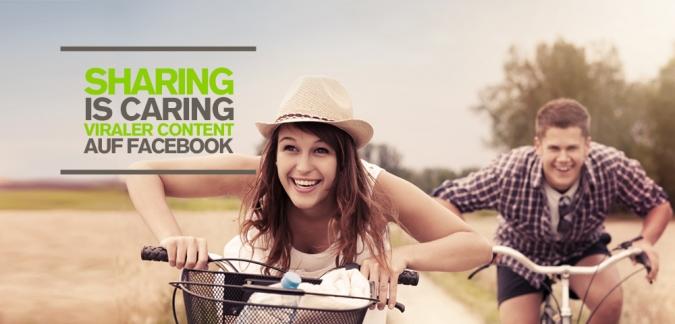 Content Marketing via Facebook – Welcher Content wird auf Facebook geteilt? Infografik