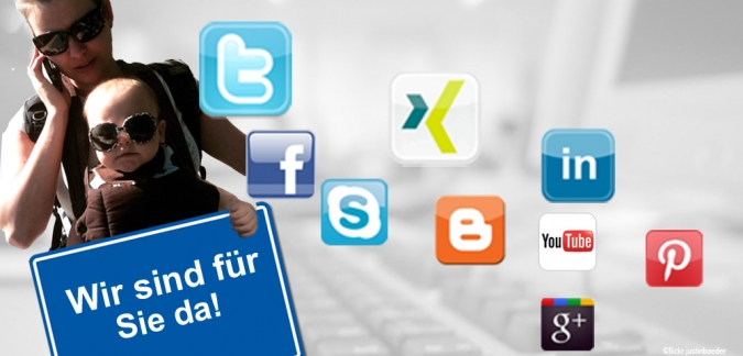 kundenservice social media facebook twitter