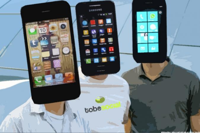 Infografik Smartphone Nutzertypen