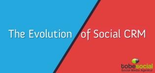 infografik social crm evolution customer relationship management