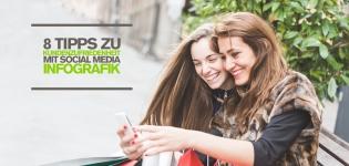 Kundenzufriedenheit durch Social Media Marketing: 8 Tipps für bessere Kundenbeziehungen [Infografik]