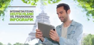 Internetnutzung in Deutschland & Frankreich: Wie verhalten sich die Internetnutzer?