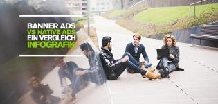 Social Media Advertising – Native Ads vs. Banner Ads, was ist effektiver [Infografik]