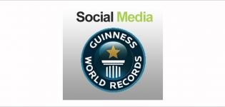 Grafik Social Media Guiness World Records