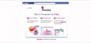 Grafik Facebook Seite kostenlos telefonieren