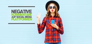 Social Media Kritik: Wie geht man mit negativen Kommentaren auf Facebook, Twitter & Co. um? [Infografik]