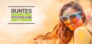 Buntes Social Media Marketing – Welche Rolle spielt die Psychologie der Farben? [Infografik]
