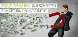 In 6 Schritten zum Social Media Return on Investment.