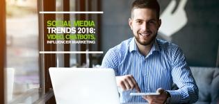 Social Media Trends 2018: Video, Chatbots und Influencer Marketing [Infografik]