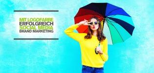 Visuelles Social Media Branding – Mit der Logofarbe zum erfolgreichen Social Media Brand Marketing [Infografik]