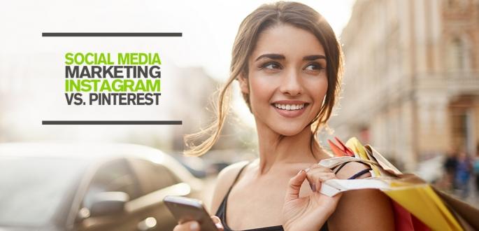 Welche Social Media Plattform gewinnt das Social Shopping Battle? Instagram Marketing vs. Pinterest Marketing Content Strategie